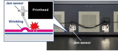 Jam sensor