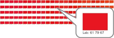 Similar color chart