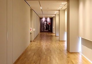■Entrance of the 1st exhibit room