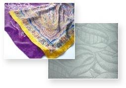 Printing favorable designs on cotton, hemp, silk, and rayon