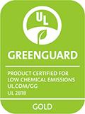 GREENGUARD Gold Certification label