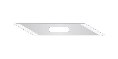 SPB-0048 High-speed steel blade30° 7mm