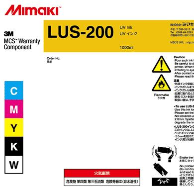 LUS20-M-BA LUS-200 UV curable ink 1L bottle Magenta
