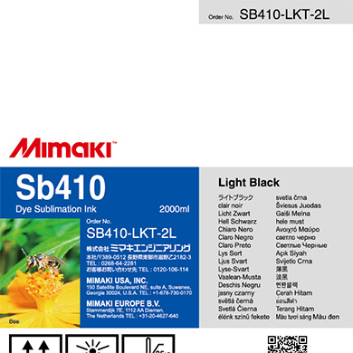 SB410-LKT-2L Sb410 Light Black T