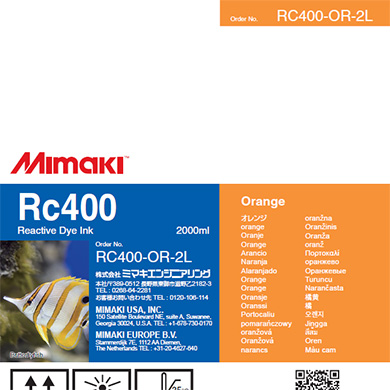 RC400-OR-2L Rc400 Orange
