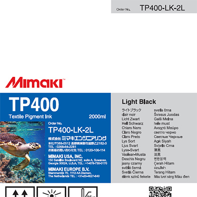 TP400-LK-2L TP400 Light Black