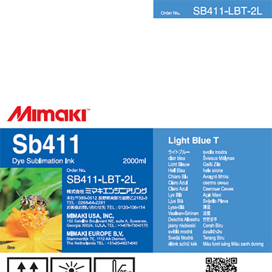 SB411-LBT-2L Sb411 Light Blue T