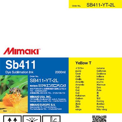SB411-YT-2L Sb411 Yellow T
