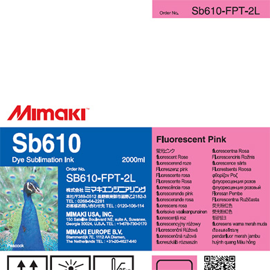 SB610-FPT-2L Sb610 Fluorescent Pink T
