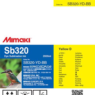SB320-YD-BB Sb320 Yellow D