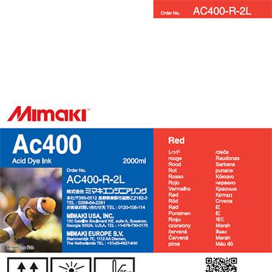 AC400-R-2L Ac400 Red