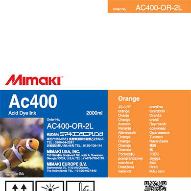 AC400-OR-2L Ac400 Orange