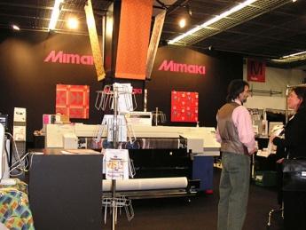 Exhibition for textile