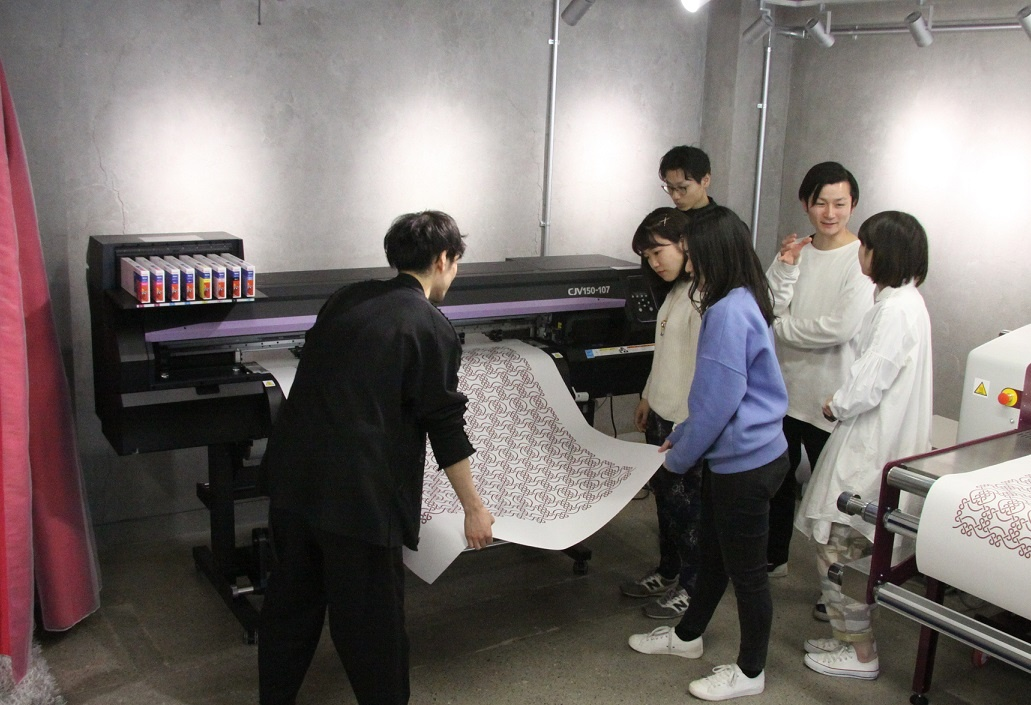 Mimaki sublimation transfer system is active at the topic