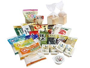 Products using the company's soft packaging