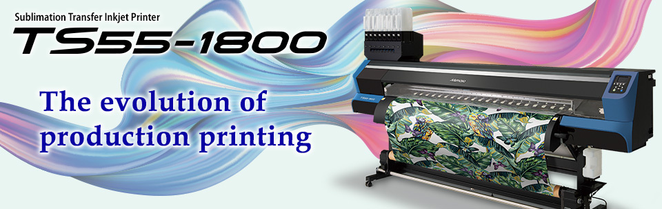 "Sublimation Transfer Inkjet Printer ""TS55-1800"""